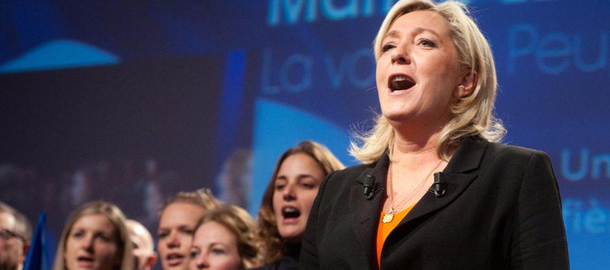 Marine Le Pen ha llevado al Frente Nacional desde un estatus marginal al centro de la atención...