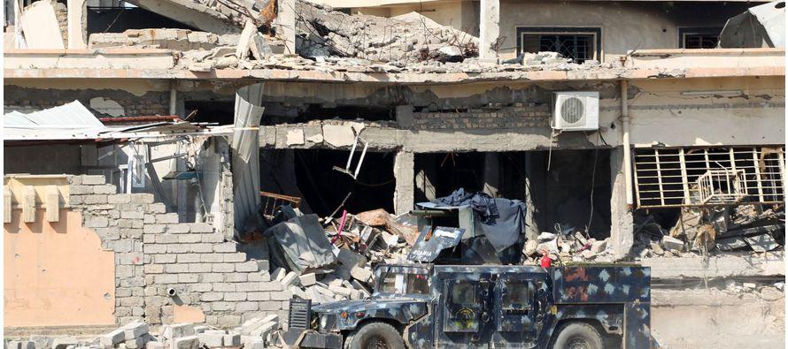El presidente de la Comisión de Seguridad del Consejo Provincial de Nínive, cuya capital es Mosul,...