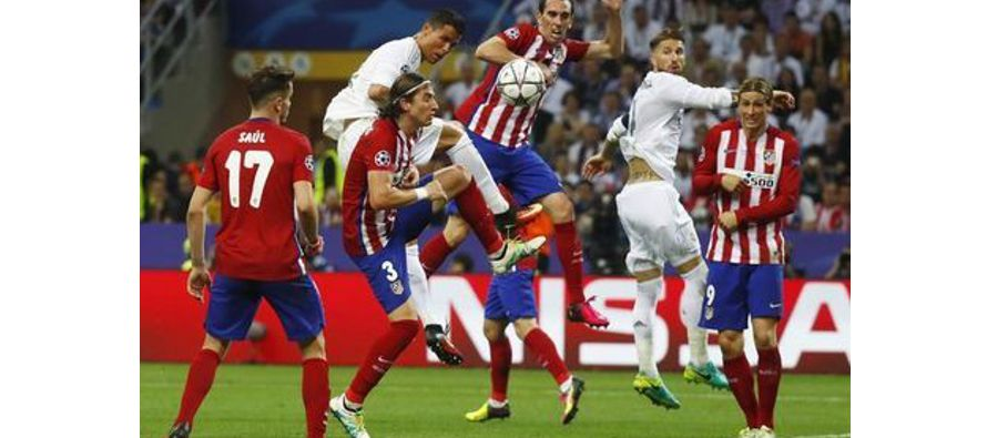 El Real Madrid, 11 veces campeón europeo, se enfrentará nuevamente al Atlético de Madrid en una...
