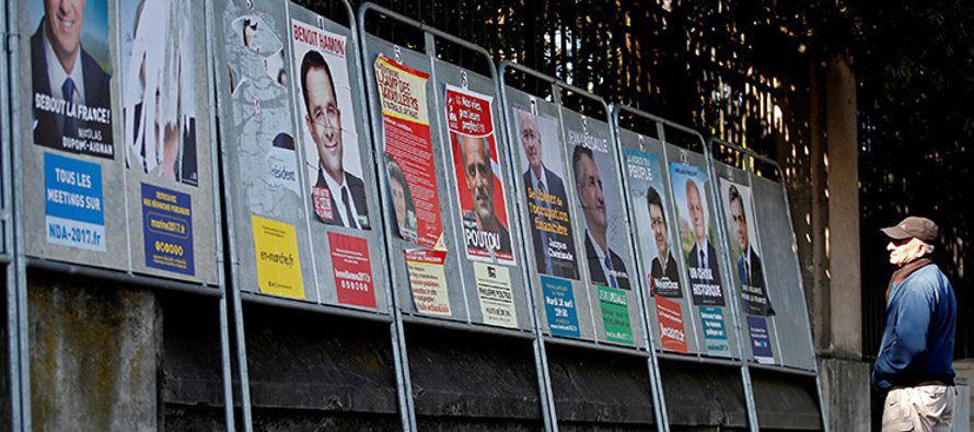 Nunca antes tantos candidatos optaron a disputarse la presidencia de Francia, una incertidumbre...