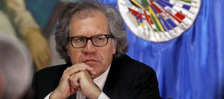 """Carta democrática es """"constructiva"""" y Venezuela se burla de América: Almagro"""