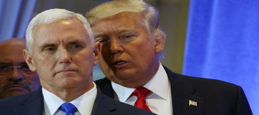 Pence se convierte en emisario de Trump en crisis de Corea