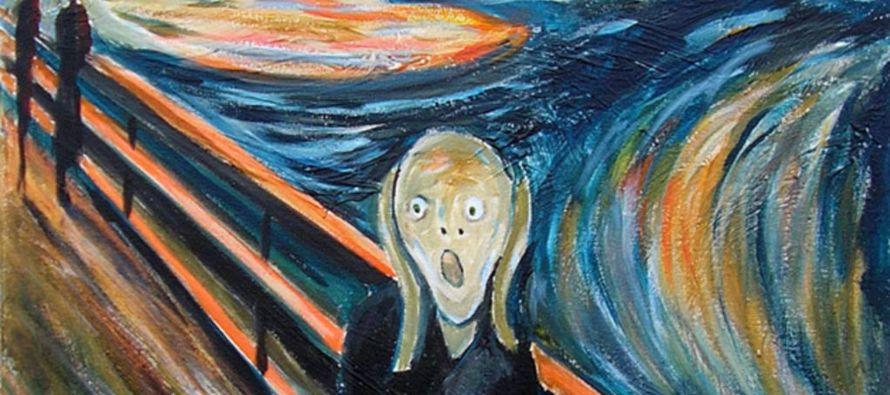"""El cielo rojizo de """"El grito"""" de Munch no es solo expresionista"""