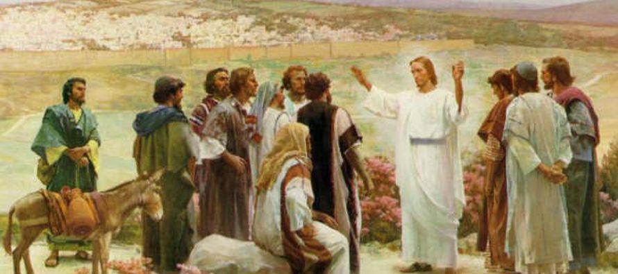 Con esto, el Señor Jesús, después de hablarles, fue elevado al cielo y se sentó a la diestra de...