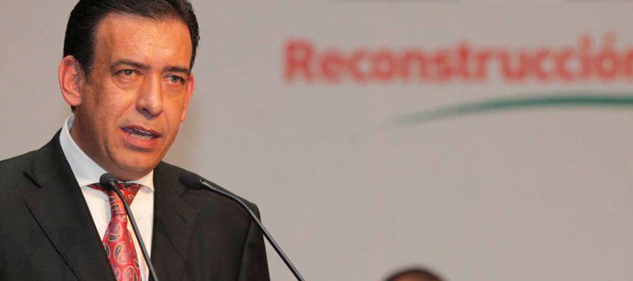 El PRI expulsa a exgobernador Moreira por tomar candidatura de otro partido