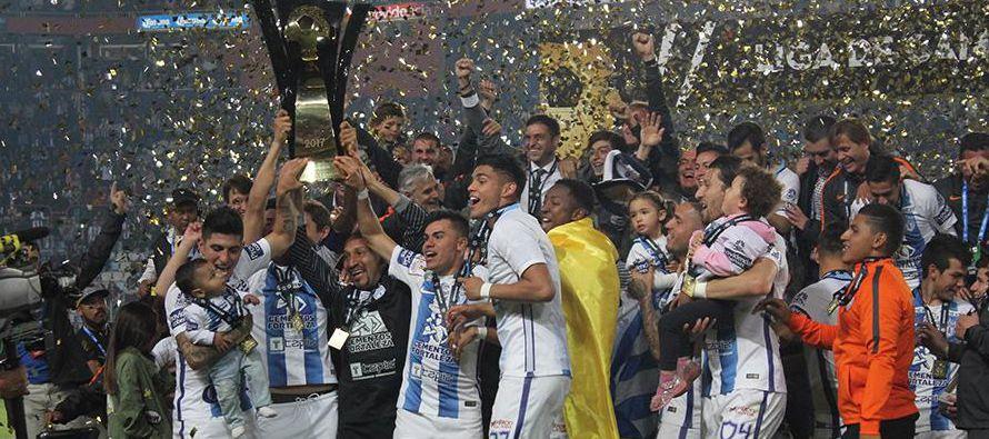 Pachuca es campeón de la CONCACAF