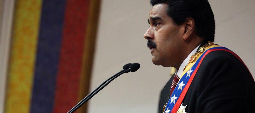 """Maduro dice que dio un """"paso gigante"""" tras ordenar retiro de Venezuela de OEA"""