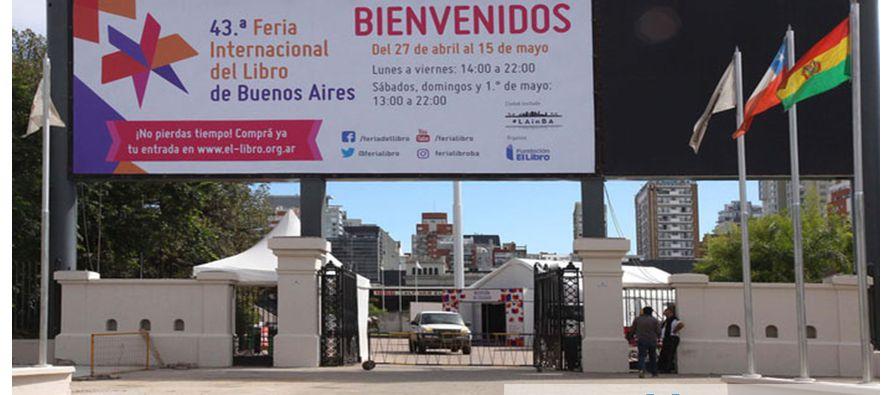 La ciudad de Buenos Aires inauguró hoy su 43ª Feria del Libro como el evento editorial en español...
