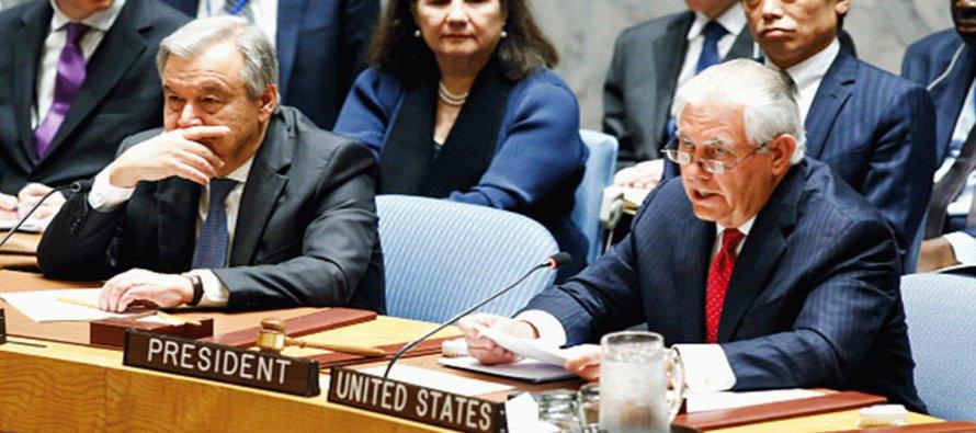 """Tillerson destacó que la """"amenaza de un ataque nuclear sobre Seúl o Tokio es real"""" y..."""