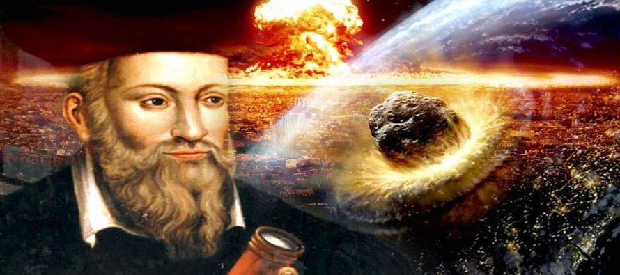 """Volvamos a repasar la centuria: """"La tierra temblará con mucha fuerza y destruirá el gran..."""