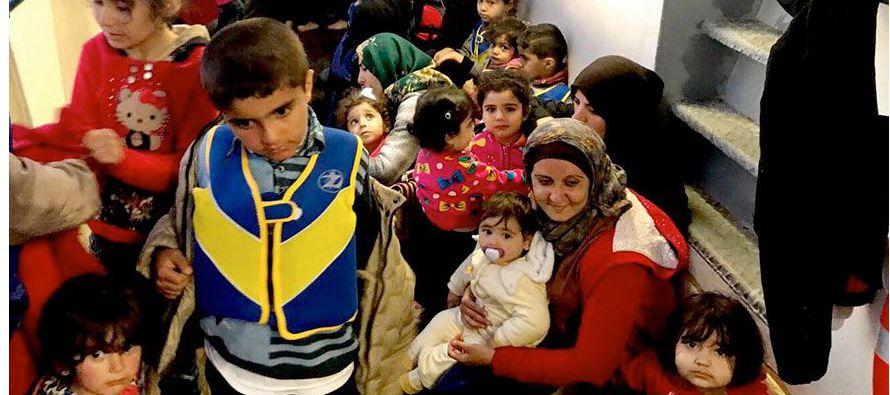 En 2014, de acuerdo con los registros de esa oficina, pidieron protección en países de la UE unos...