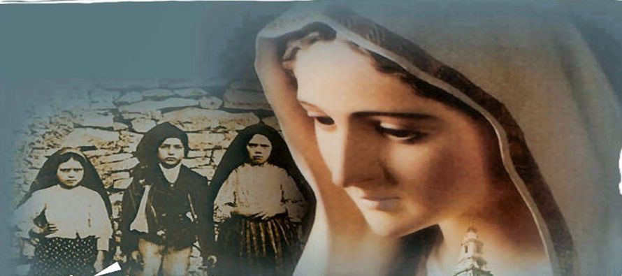 La Santísima Virgen dijo a los tres pastores que, si los hombres no dejasen de ofender a Dios,...