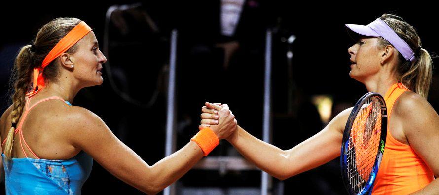 En otro partido, la checa Katerina Siniakova por 5-7, 6-3 y 7-6 a la china Shuai Zhang; la alemana...