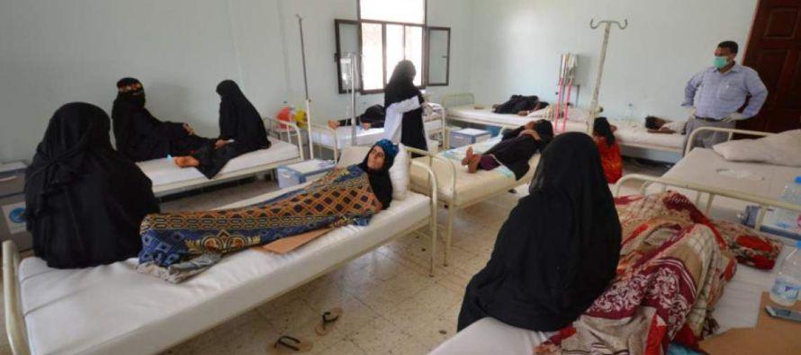 A la actual epidemia de cólera en Yemen se le atribuyen 115 muertos y más de ocho mil...