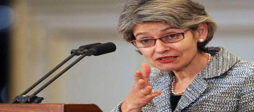 La directora general de esa organización de la ONU pidió a las autoridades de México llevar a cabo...