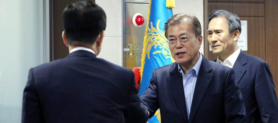 """""""Nuestra postura más básica es que las líneas de comunicación entre Corea del Sur y Corea del..."""