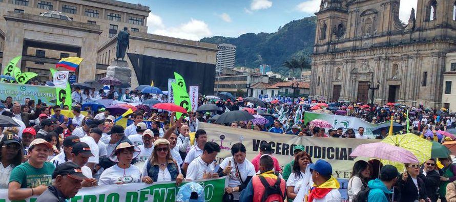 La manifestación no afectó la actividad de sectores claves de la cuarta economía de América Latina...