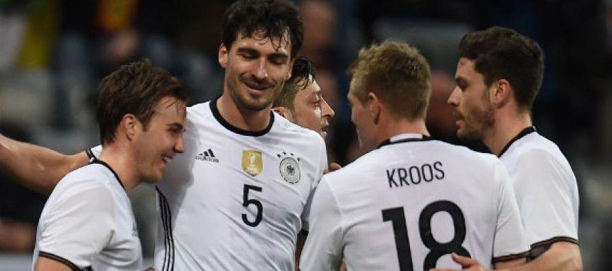 """""""Hay mucho debate en Alemania sobre si la Copa Confederaciones tiene sentido o no. El hecho es..."""