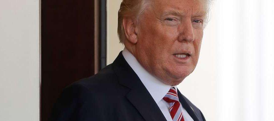 La razón de Trump para hablar de esos temas, añadía aludiendo a razones humanitarias, es que...