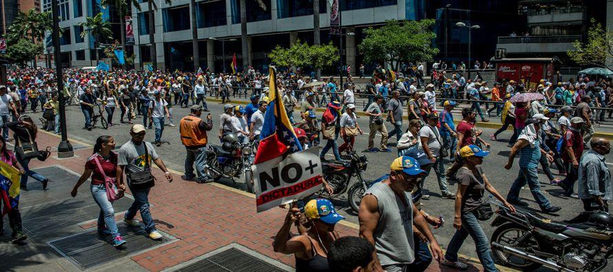 Hasta hace poco más de un mes, en el apogeo de la ola de protestas contra el Gobierno de Nicolás...