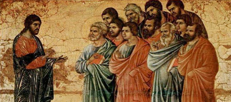 """El Padre ama al Hijo, y Jesús no deja de decírnoslo: """"El que me ha enviado está conmigo: no me..."""