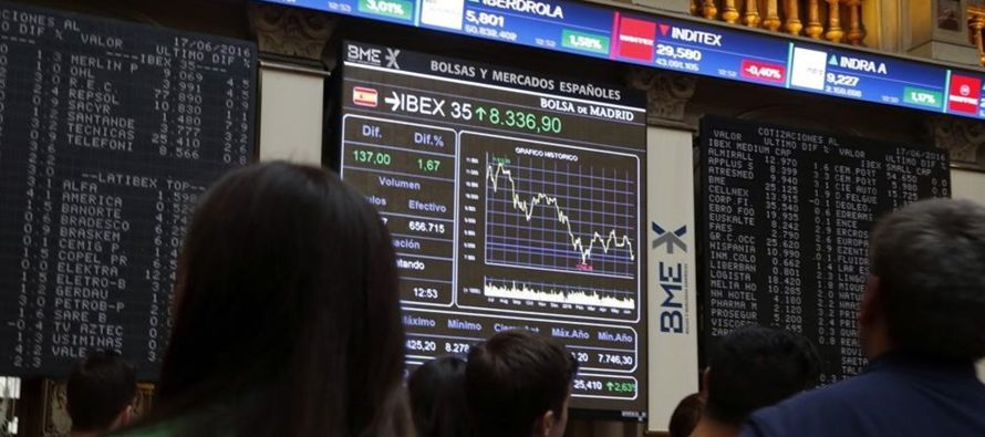 El índice paneuropeo STOXX 600 sumaba un 0,3 por ciento a las 0725 GMT, pero acumula un declive...