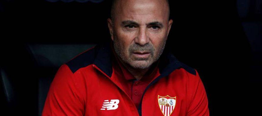 En su primera temporada en Europa, Sampaoli llevó al Sevilla al cuarto lugar de la liga española...