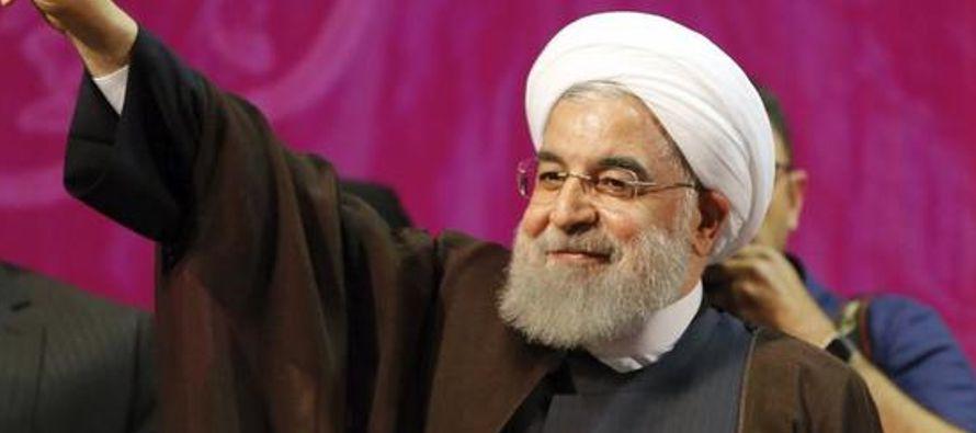 La Revolución recuerda a Hasan Rohani como quien acuñó por primera vez el término imánpara...