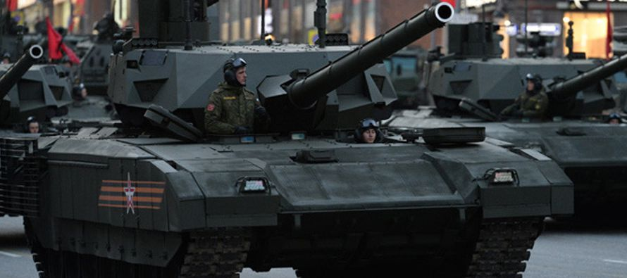 Interrogado sobre el desarrollo de ambos tanques, Yuriy Lyamin explica que el vehículo de combate...