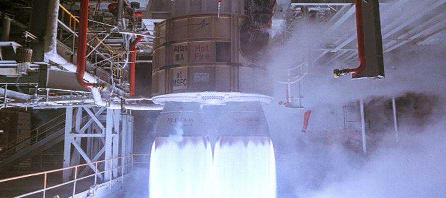 Actualmente, el motor ruso RD-180 se instala en la primera etapa del cohete estadounidense Atlas V....