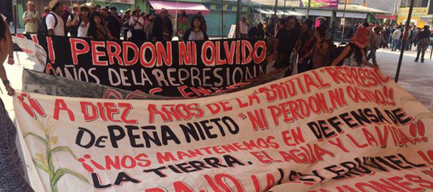 Peña será investigado en la Corte Interamericana por el caso de las mujeres vejadas en Atenco