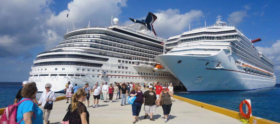 Según datos de la FCCA, Cozumel es el destino número uno a nivel global en el arribo de turistas...
