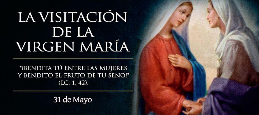"""Después del anuncio del ángel, María se pone en camino (""""de prisa"""" dice san Lucas) para..."""