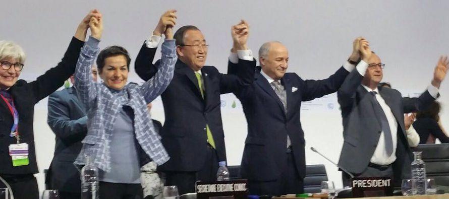 Los esfuerzos presentados de manera voluntaria por cada uno de los casi 200 países firmantes no...