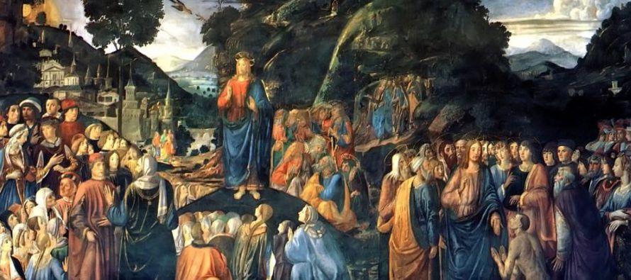 """""""Bienaventurados los pobres de espíritu, porque de ellos es el Reino de los Cielos...."""