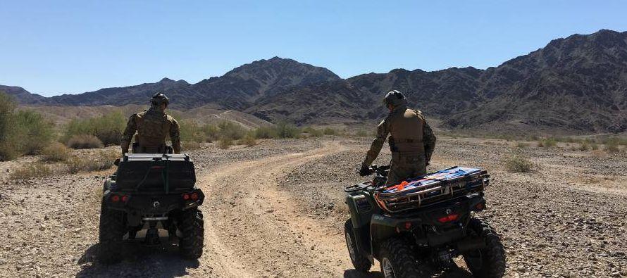 El pasado 25 de mayo, la policía de fronteras de Estados Unidos en su base de Yuma, Arizona,...