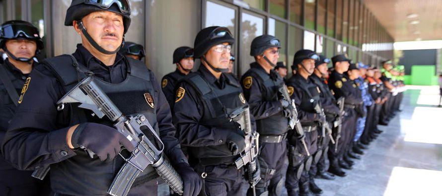 Alrededor de 20 jefes de autoridades del orden público fueron asesinados, mientras siete salieron...