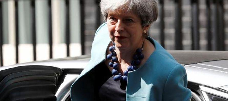 """La líder conservadora anunció la creación de una """"fuerza de choque"""" en su propio Gabinete..."""