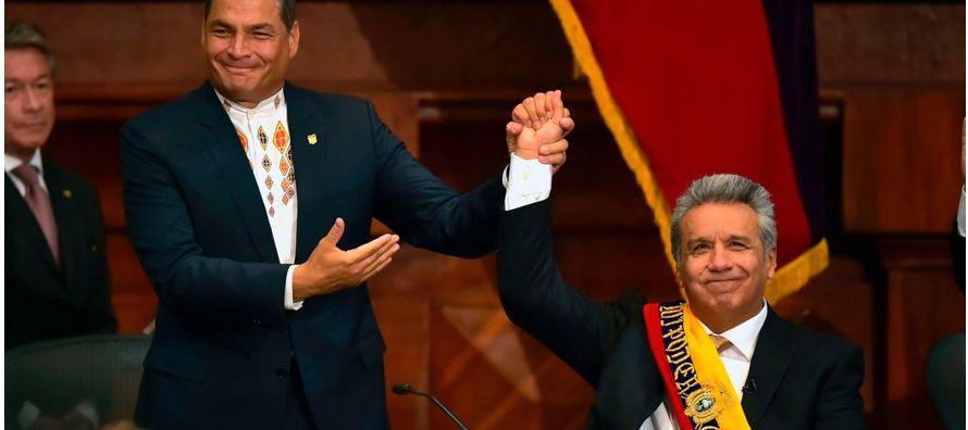 Es indiscutible que Correa tuvo un liderazgo fuerte, pero el país lo despidió el pasado 24 de mayo....