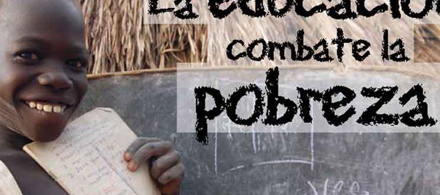 Con el título Reducir la pobreza mundial a través de la educación primaria y secundaria universal,...