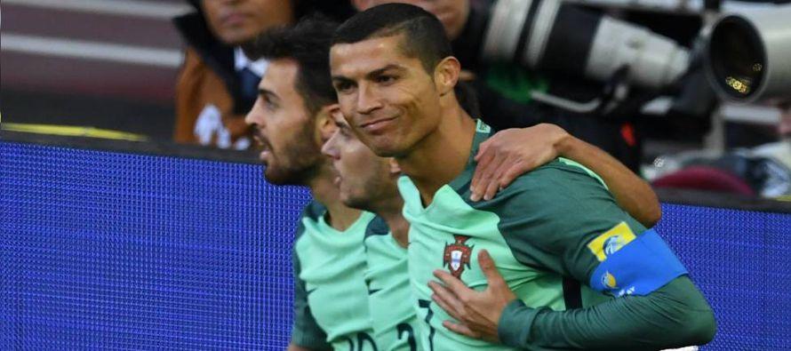Portugal gana 1-0 a Rusia por Copa Confederaciones con gol de Ronaldo