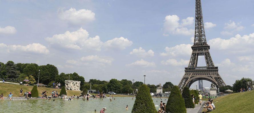 Alerta en Francia por altas temperaturas en casi todo el país