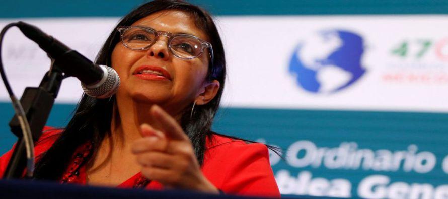 El nocaut de Delcy Rodríguez a la OEA