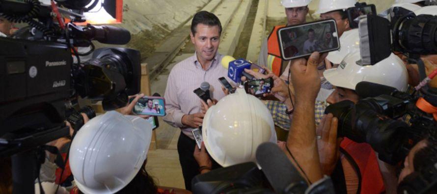Peña Nieto se desdice de sus polémicas declaraciones y asegura que no amenazaba a periodistas