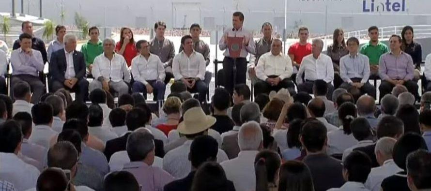 Peña Nieto niega acusaciones de espionaje y declara: Todos nos sentimos espiados
