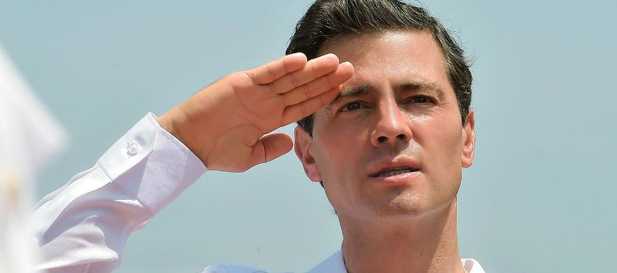"Peña Nieto pide se aplique la ley por ""falsos testimonios"""