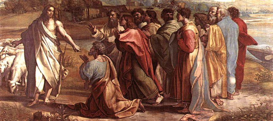 """""""Bienaventurado eres Simón, hijo de Jonás, porque no te ha revelado esto la carne ni la..."""