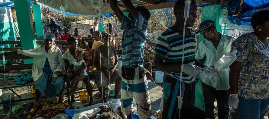 La Organización de las Naciones Unidas expresa una creciente alarma por el brote de cólera en...