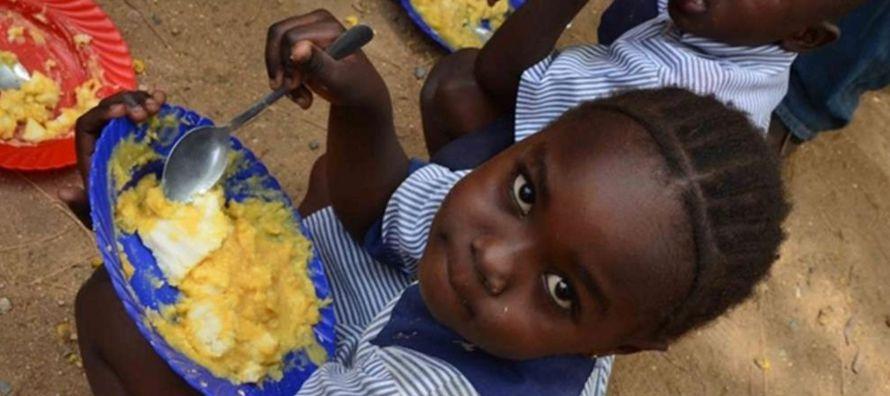 Al recordar que casi el 60 por ciento de quienes padecen hambre viven en naciones azotadas por...