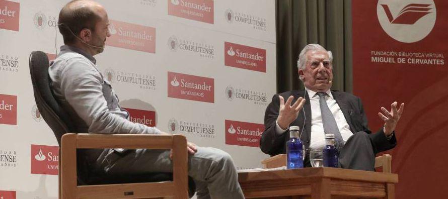 Vargas Llosa tenía, pues, toda la autoridad del mundo para hablar de su colega y con esa...
